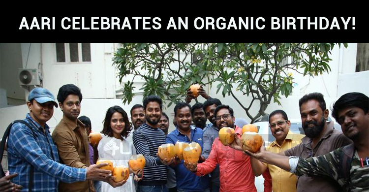 Aari Celebrates An Organic Birthday!