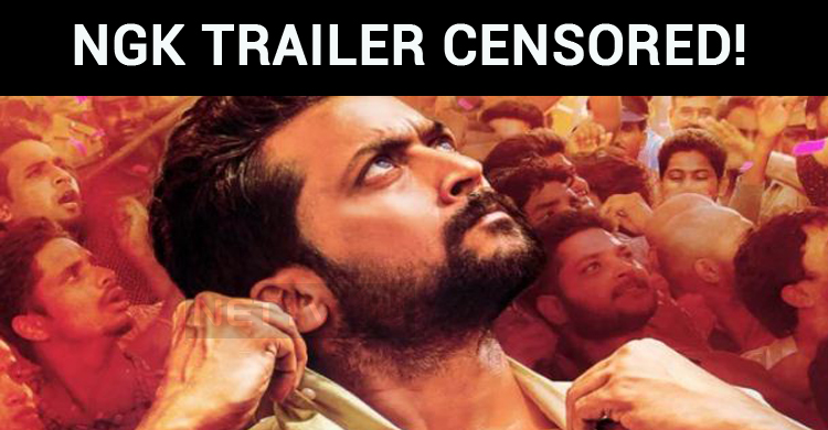 NGK Trailer Censored! Get Ready For A Stunning Trailer On Valentine's Day!