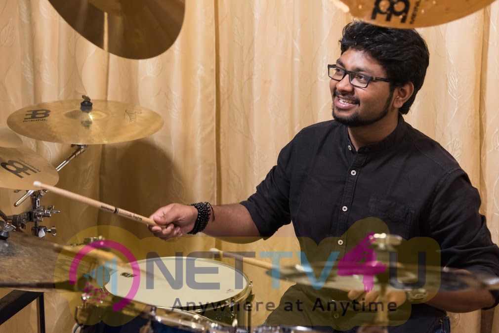 Drummer Siddharth Nagarajan Excellent Photos