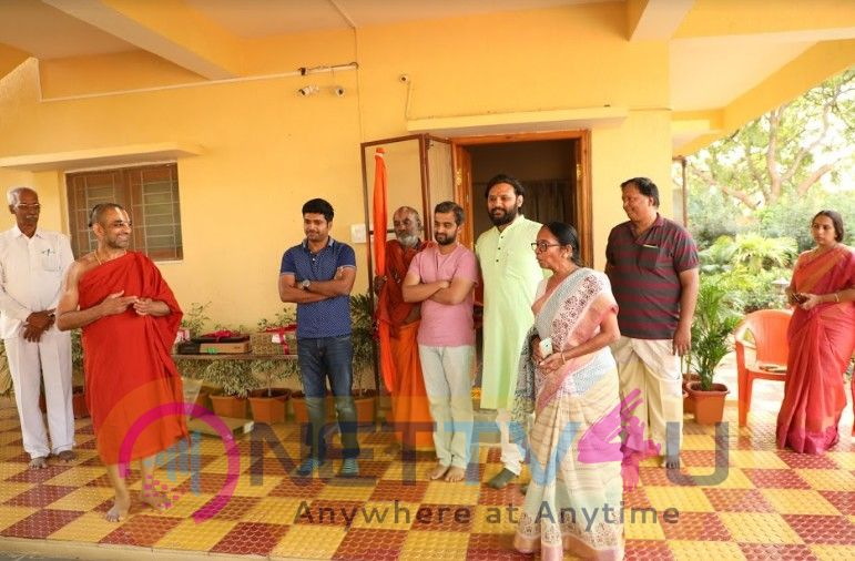 Anil Ravipudi & Raja The Great Team Donated Laptops To The Blind Children At Nethra Vidyalaya Pics