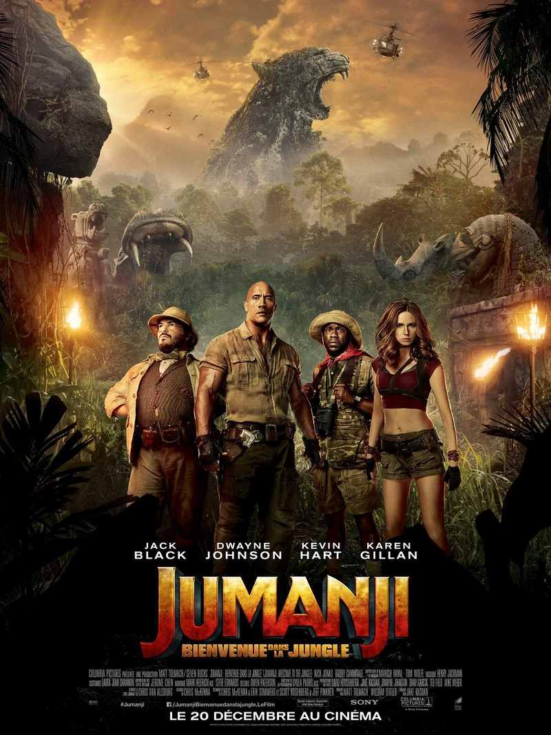 Jumanji: Welcome to the Jungle Movie review English Movie Review