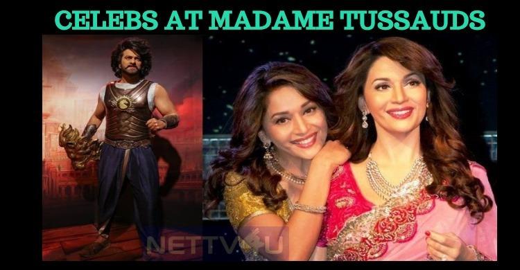 Top Cinema Personalities At Madame Tussauds !