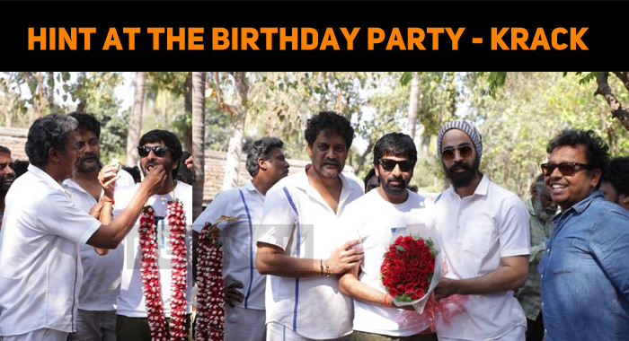 Krack Update - A Hint On Gopichand Birthday Party