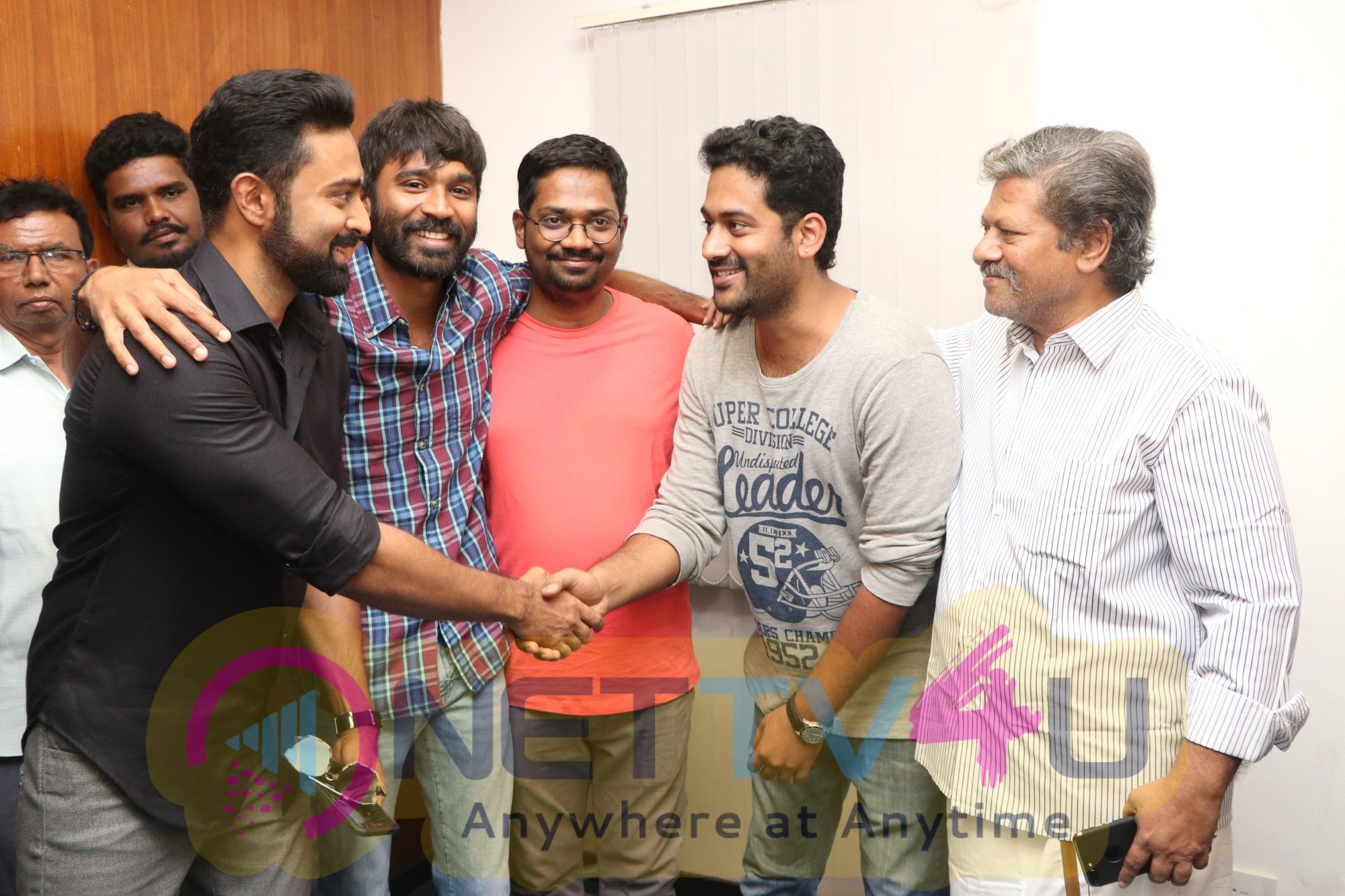 Power Paandi Movie Press Show Stills