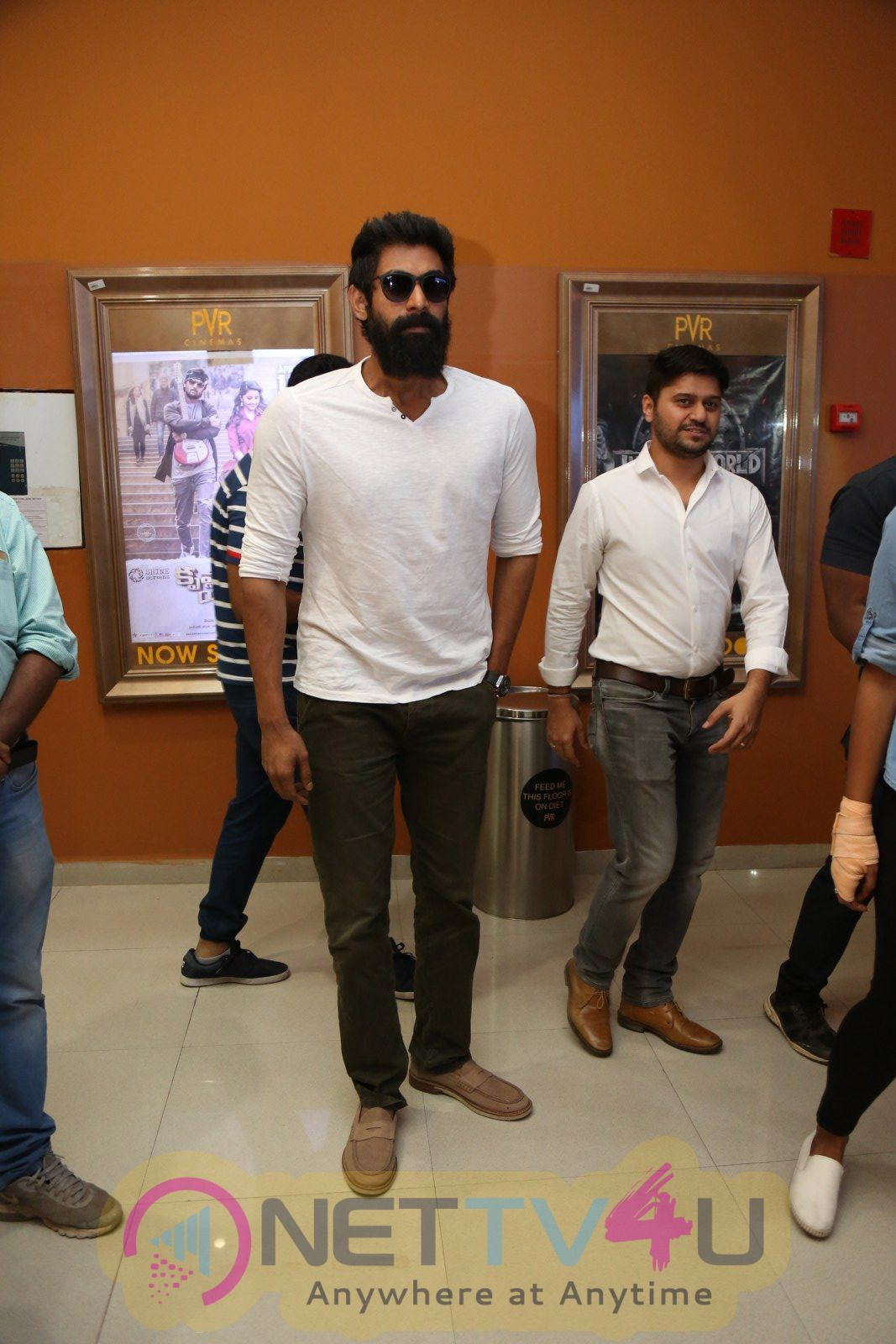 Actor Rana Daggubati At Avengers Press Meet Pics  Telugu Gallery
