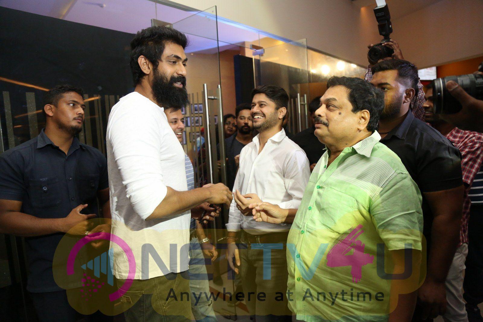 Actor Rana Daggubati At Avengers Press Meet Pics  Telugu Gallery