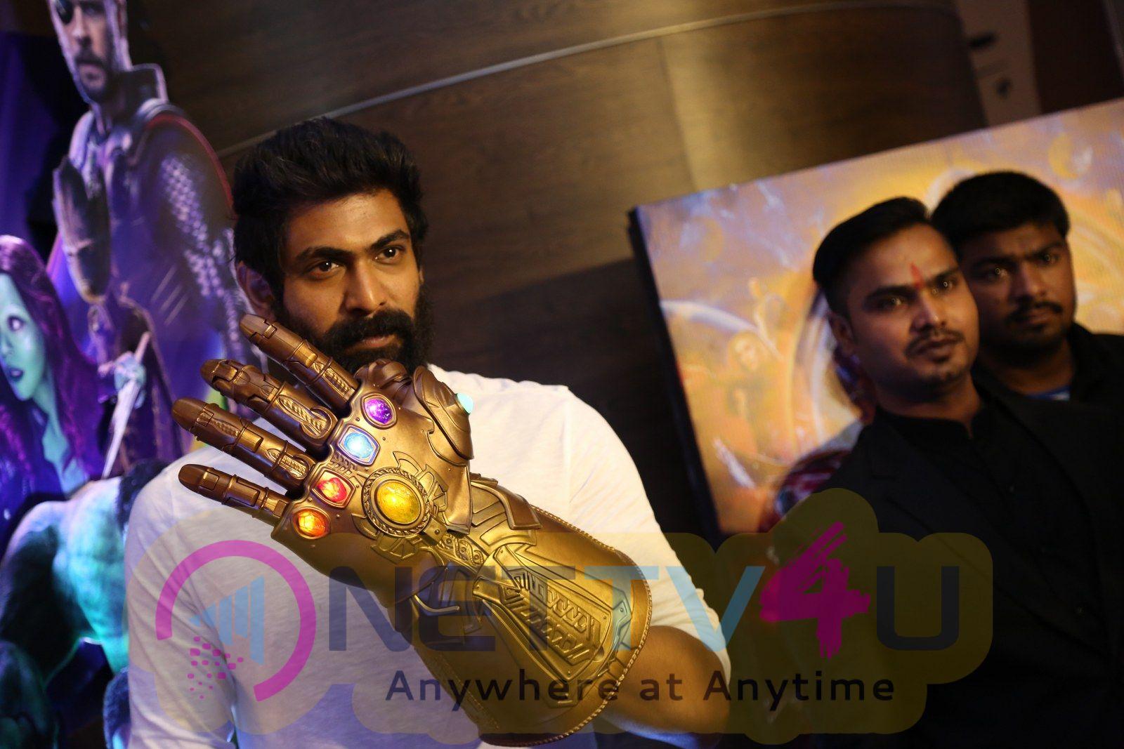 Actor Rana Daggubati At Avengers Press Meet Pics