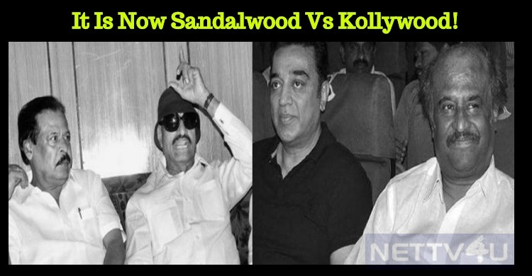 It Is Now Sandalwood Vs Kollywood!