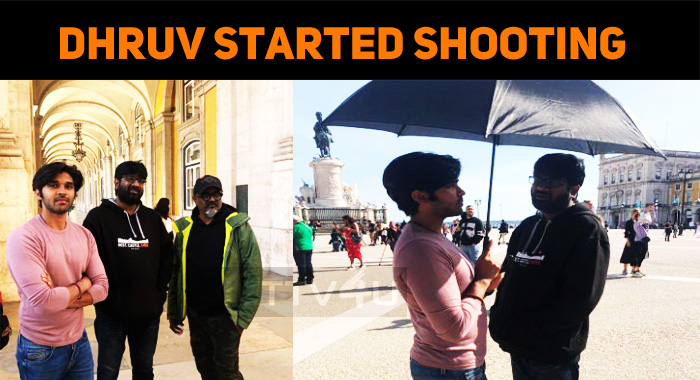 Dhruv Vikram Started Shooting For Adithya Varma!
