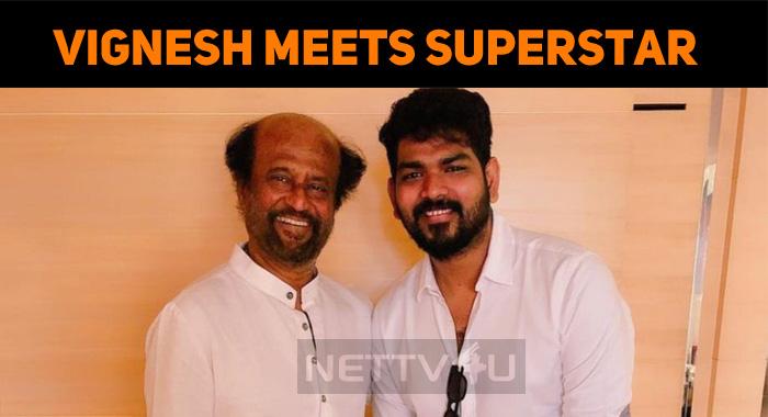 Vignesh Shivan Meets Superstar In Mumbai!