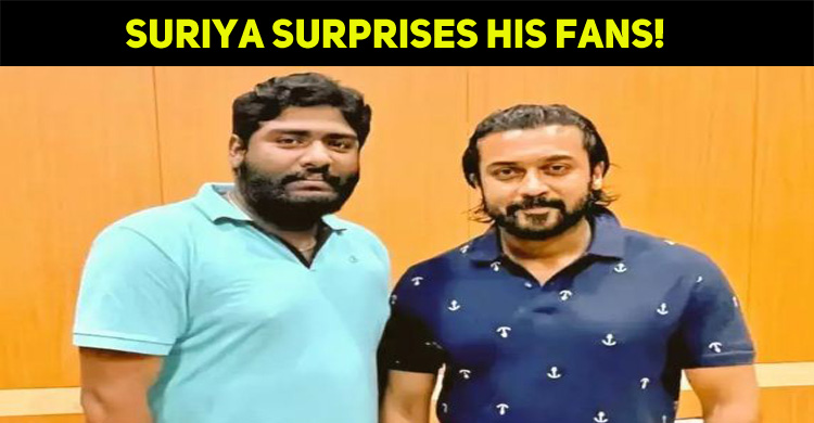 Suriya Once Again Surprises His Fans!
