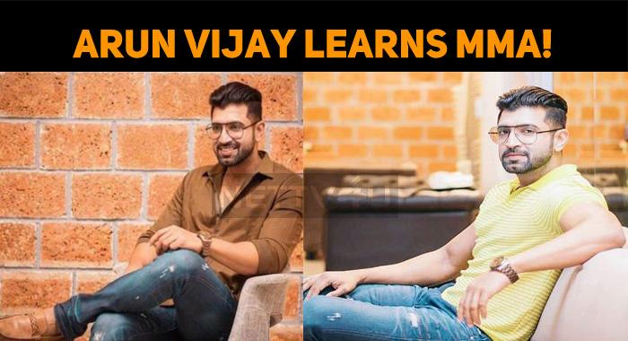 Arun Vijay Learns MMA!