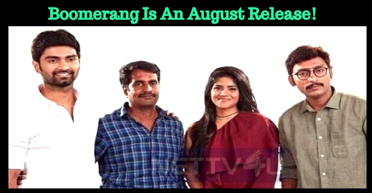 Boomerang Is An August Release! Tamil News
