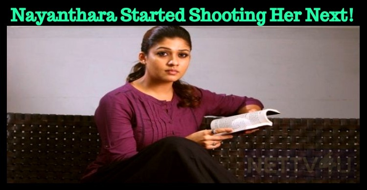Nayanthara Started Shooting Her Next!