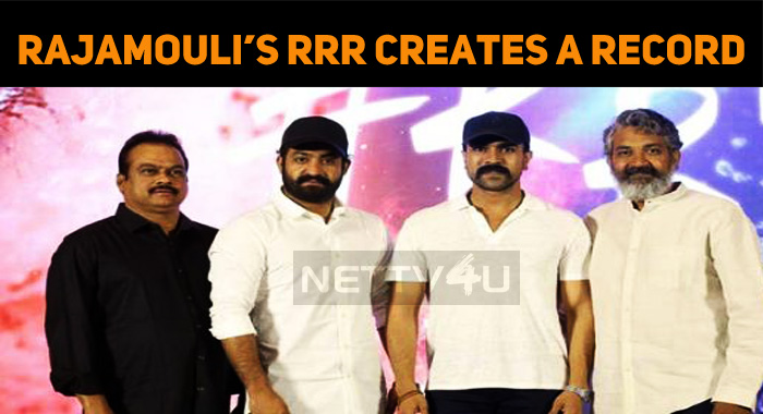 Rajamouli's RRR Gone For A Whopping Amount!