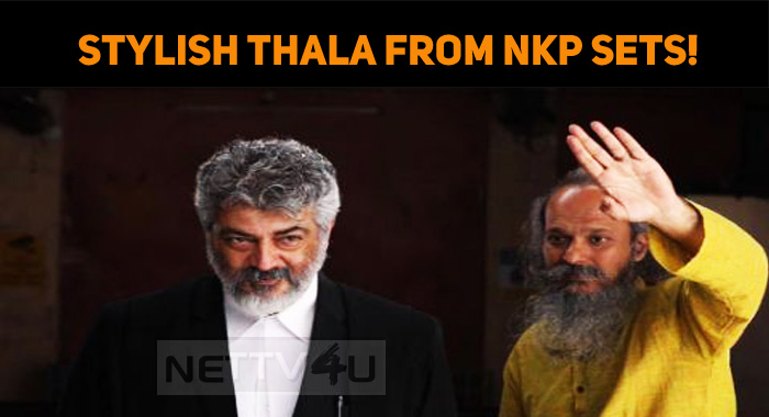 Thala's Stylish Look From NKP Sets!