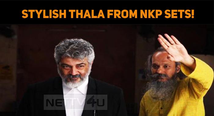 Thala's Stylish Look From NKP Sets!