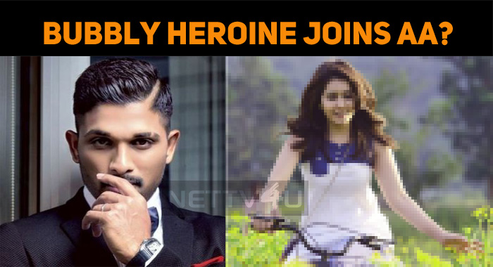 A Bubbly Heroine For Allu Arjun!