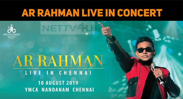 AR Rahman's Live In Concert Tickets!