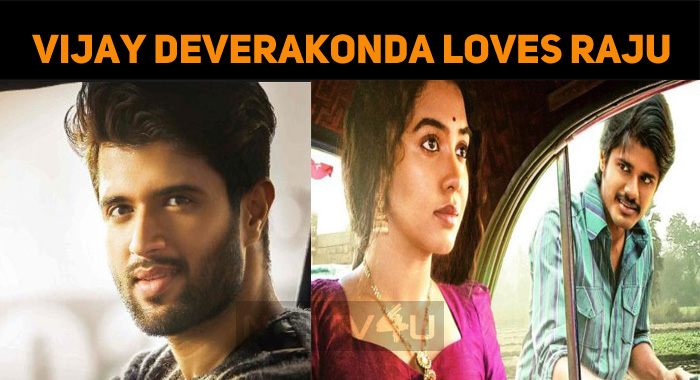 Vijay Deverakonda Loves Raju! Who Is This Raju?..