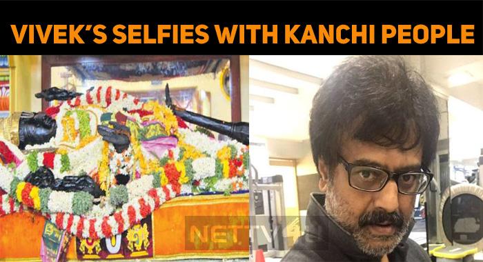 Vivek's Selfie In Kanchi!