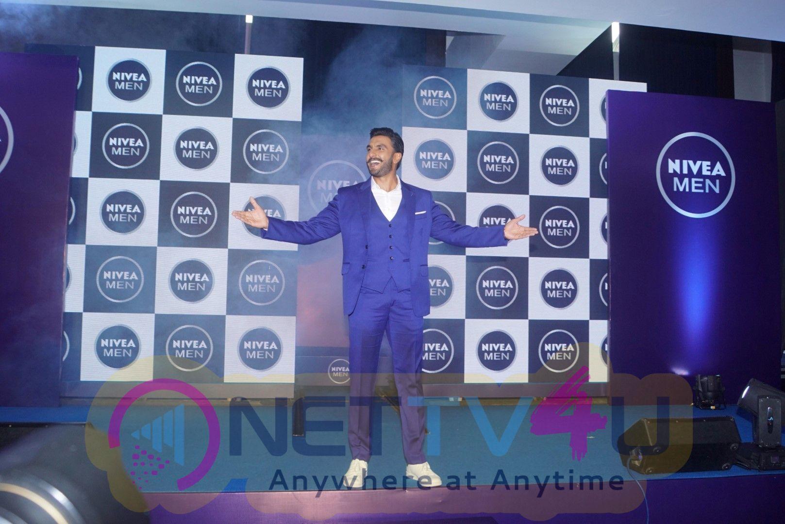 Ranveer Singh Announced As New Face Of NIVEA Men  Hindi Gallery