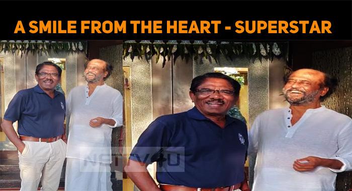 Bharathiraja Meets Superstar!