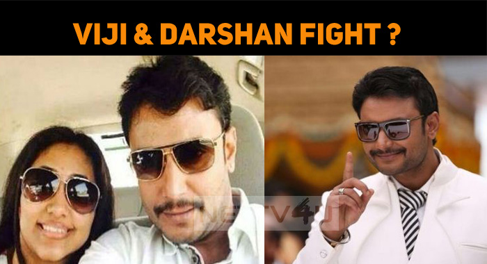 Vijayalakshmi And Darshan Fight Once Again?