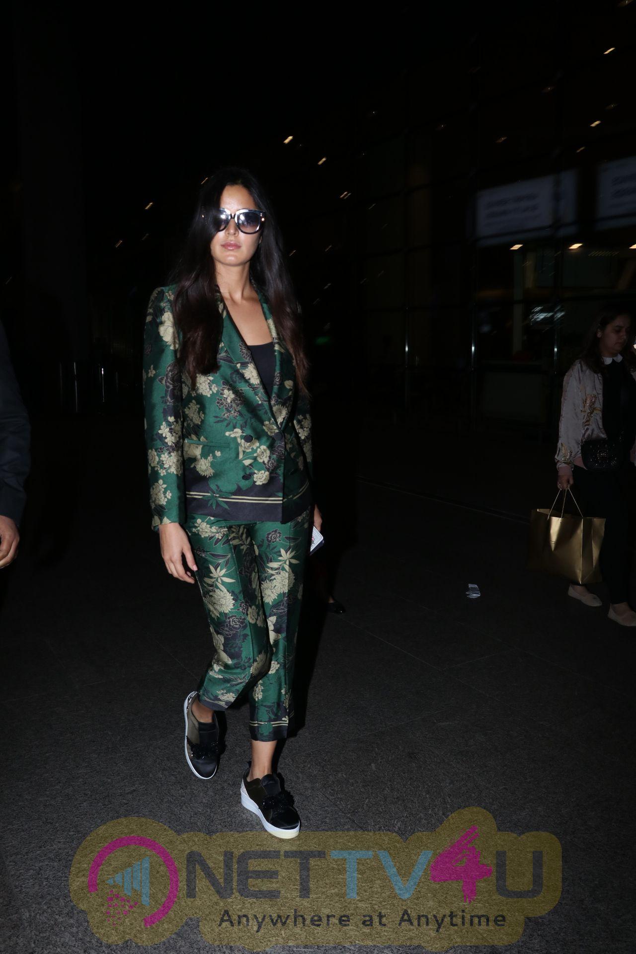 Actress Katrina Kaif Spotted At The Airport Images