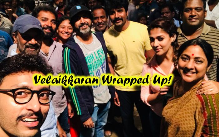 It Is A Wrap Up For Velaikkaran!