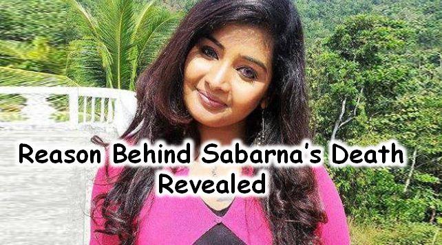 Reason Behind Sabarna's Death!