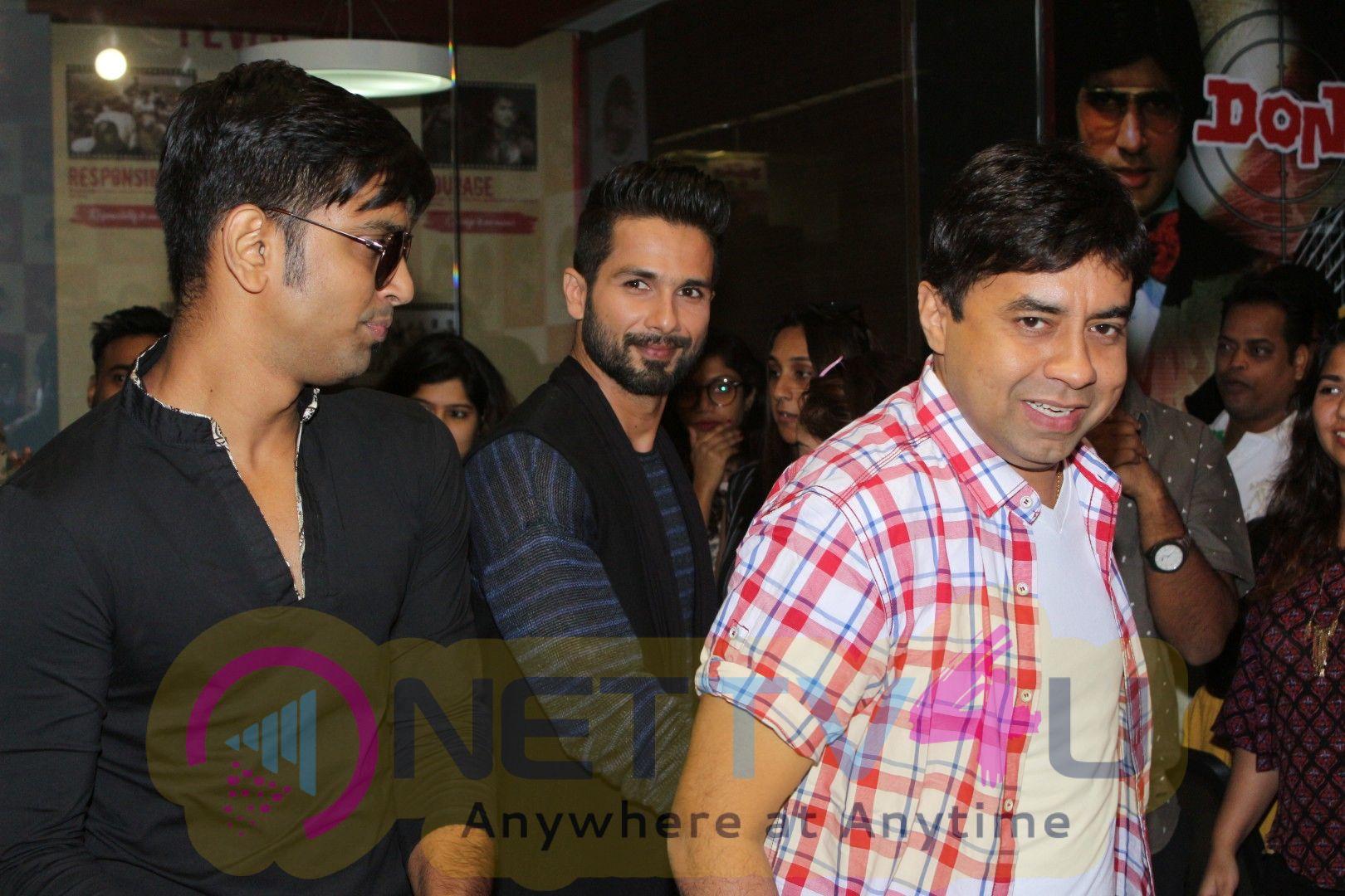 Shahid Kapoor At Fever FM Radio Station For Padmavati Promotions  Pics Hindi Gallery