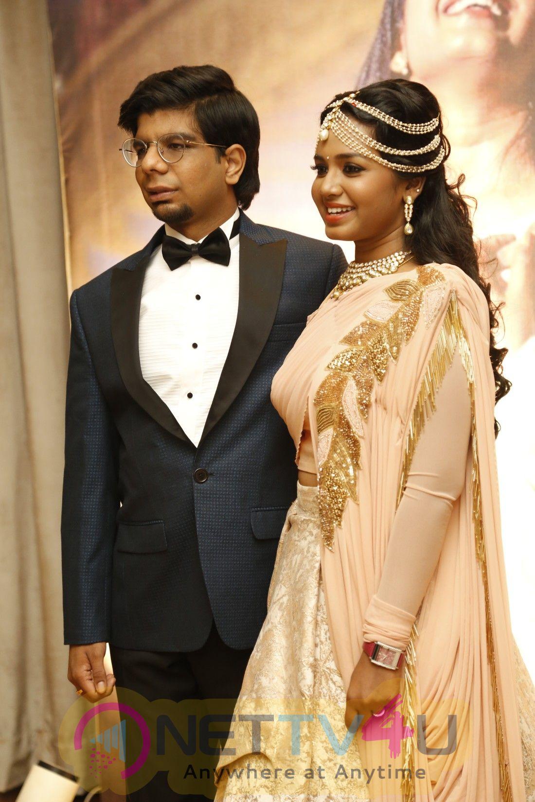 Surya Chidambaram And Meenu Lakshmanan Wedding Reception Photos