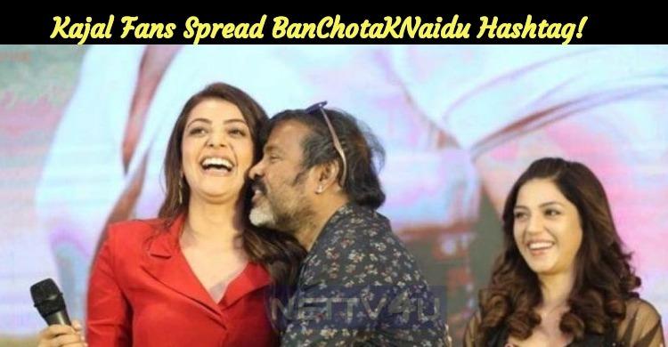 Kajal Aggarwal Fans Spread BanChotaKNaidu Hashtag!