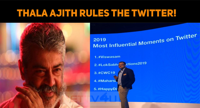 Thala Ajith Rules The Twitter!