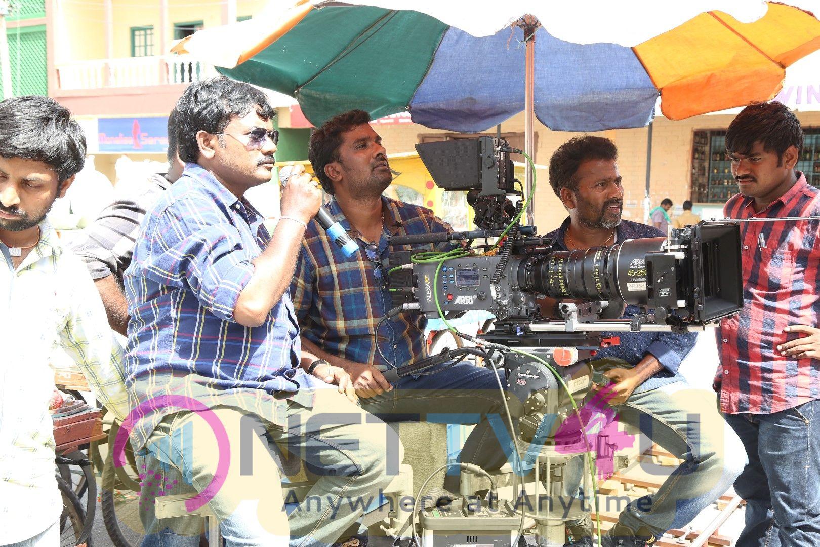 Ego Telugu Movie Working Stills
