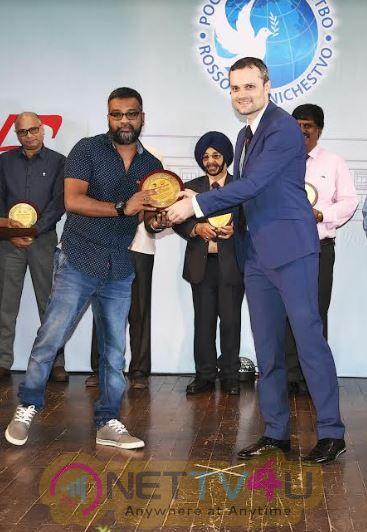 Russian Award For Neelam Movie Director Venkatesh Pic