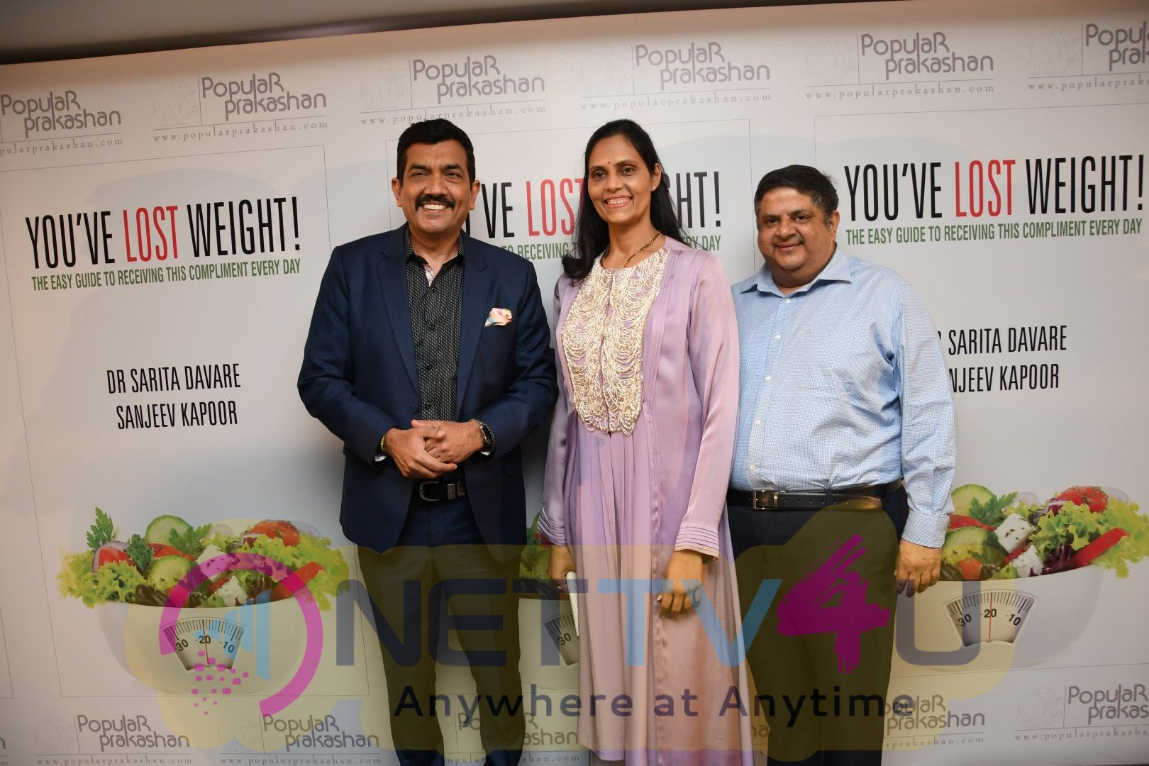 Sonali Kulkarni & Sridevi At The Book Launch Of 'YOU'VE LOST WEIGHT Stills