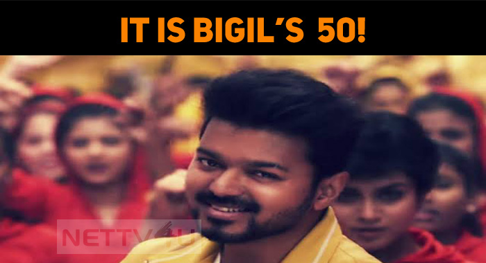 Bigil Celebrates Its 50th Day!
