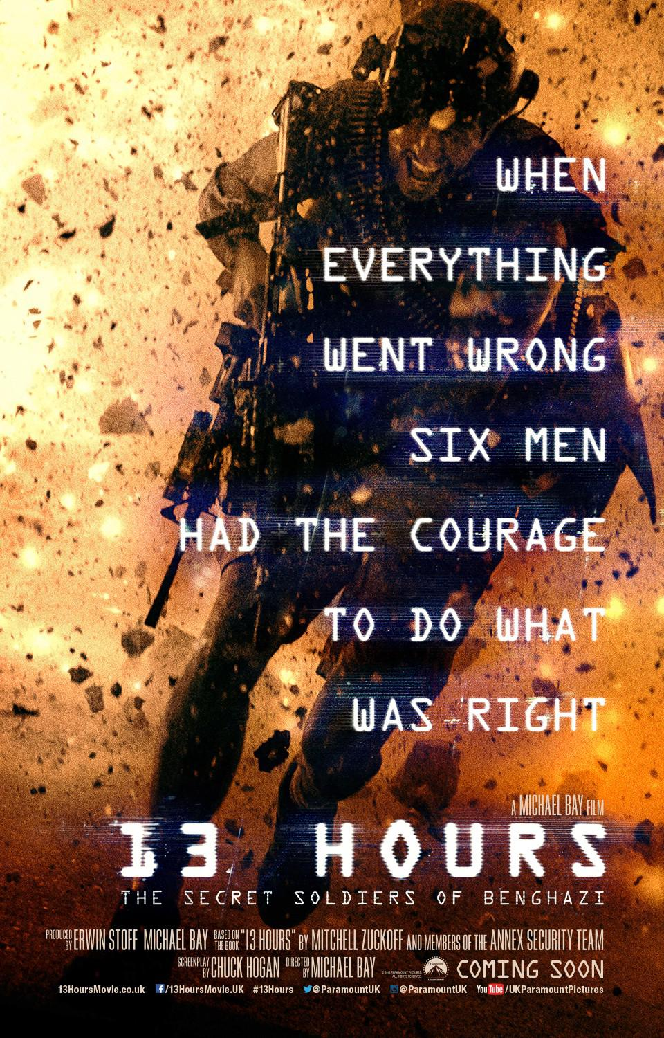 13 Hours: The Secret Soldiers of Benghazi Movie Review English