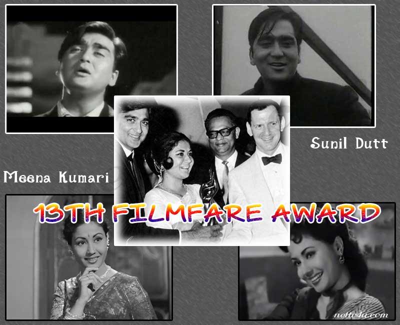 13th Filmfare Awards