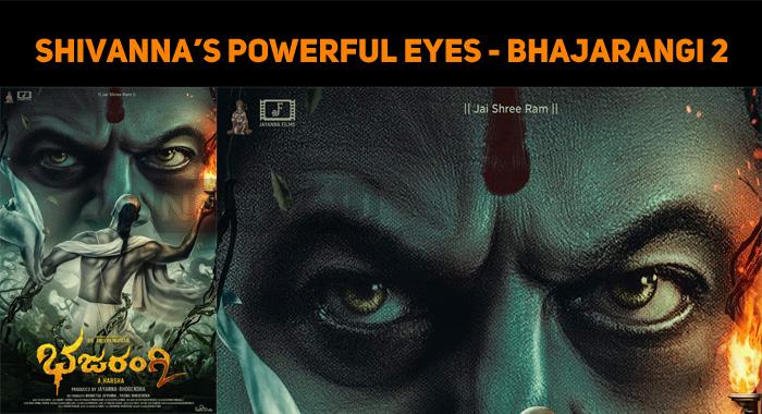 Shivanna's Bhajarangi 2 Poster Is Fantastic!