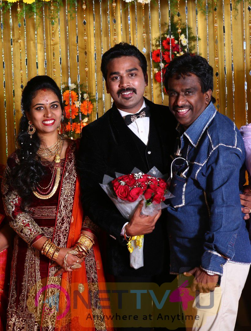 Actor Mithun Wedding Reception Grand Stills