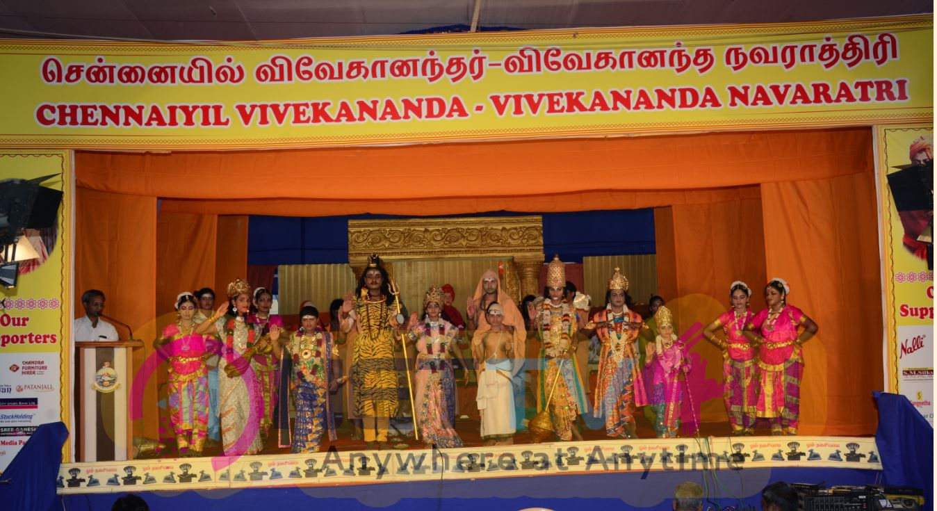 Vivekananda Navaratri Day 8 Charming Photos