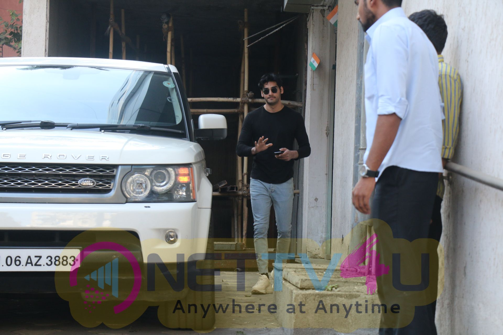 Aahan Shetty Spotted At Bandra