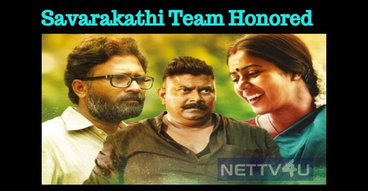 Savarakathi Team Honored By Hilarity Inn!