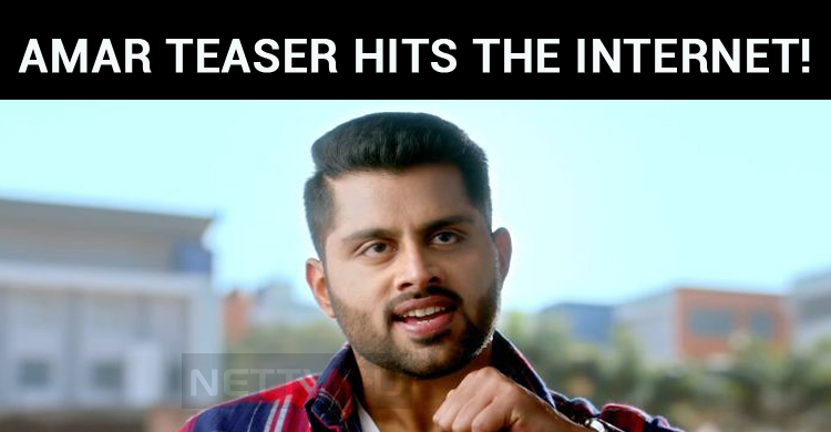 Amar Teaser Hits The Internet!