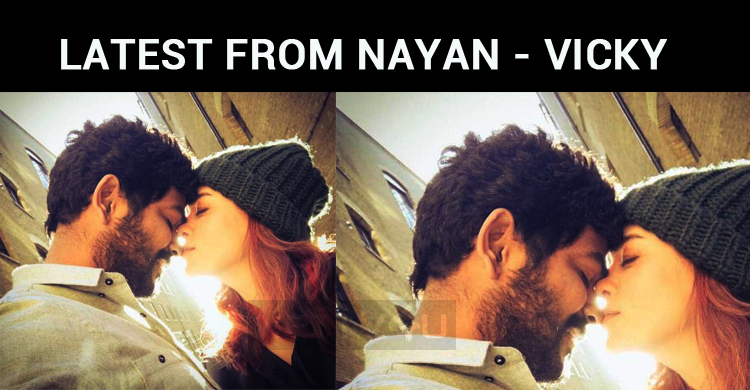 Nayanthara – Vignesh Shivan New Photo For Valentine's Day!