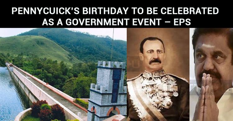 Pennycuick's Birthday Will Be Celebrated As A Government Event – EPS