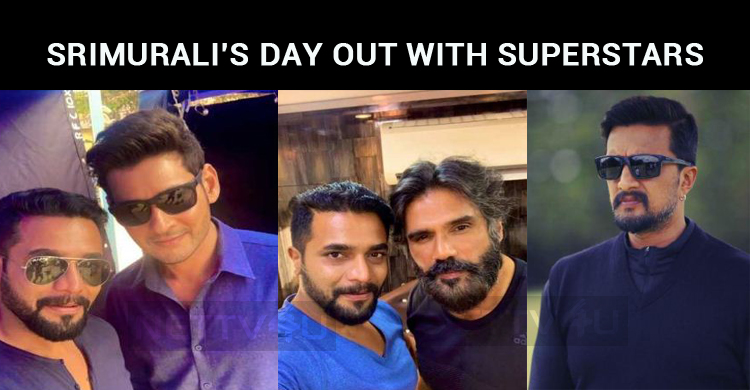 Srimurali's Day Out With Superstar!